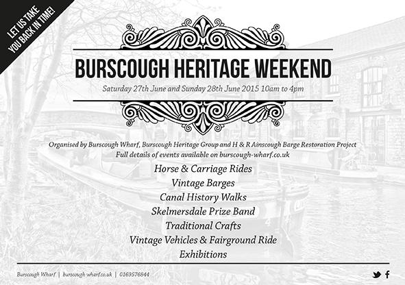 Burscough Wharf Heritage Weekend