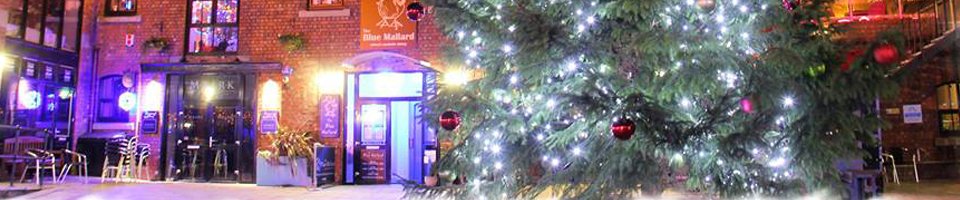 Christmas at Burscough Wharf