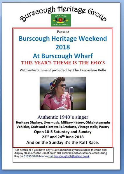 Burscough Heritage Group Burscough Wharf