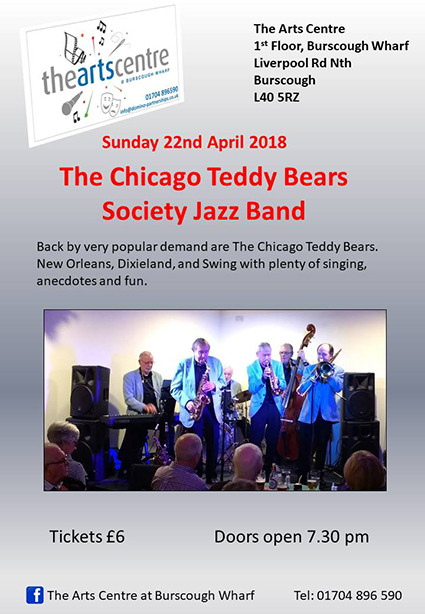 Chicago Teddy Bears at Burscough Wharf